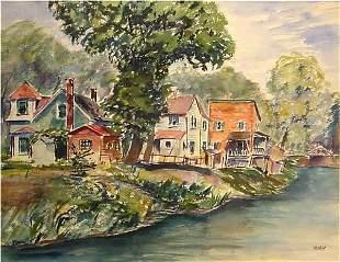 19: Max Kuehne American Painting