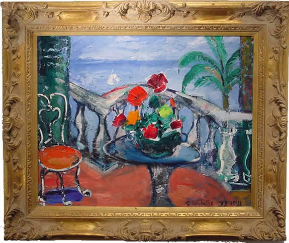 41: Stokely Webster Painting American Impressionism