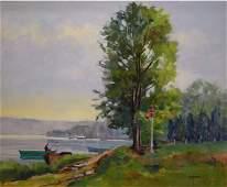 101: Puybareau French Painting Hugo Impressionism