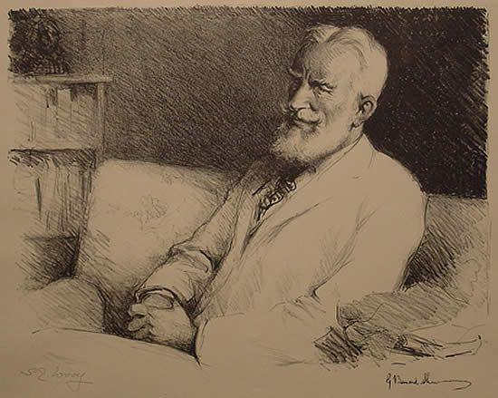 Samuel Woolf George Bernard Shaw Illustration