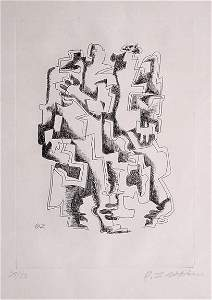 208: Ossip Zadkine French Lithograph Modern