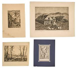 Etching Collection (19th - 20th Century)