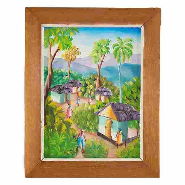 Haitian School Painting (20th Century)