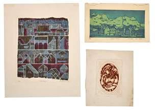 Modern School Lithographs (20th Century)