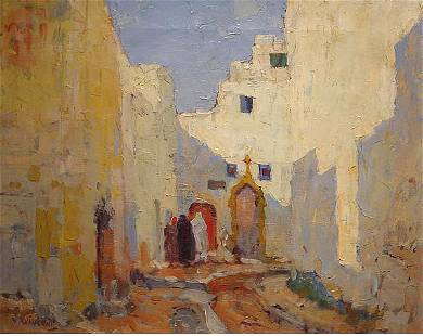 Vincent American Painting Rockport Morocco