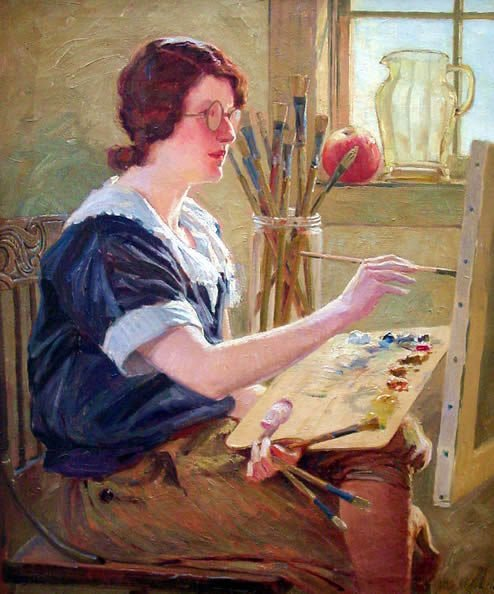 6: Powell American Painting Portrait