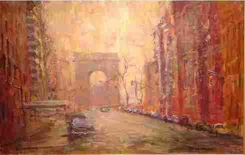 Springer American Painting Washington Square