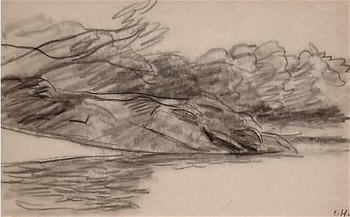 Hopper American Drawing Landscape