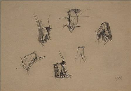 Hopper American Drawing Artist Study