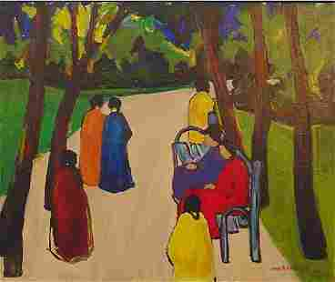 Bugzester American Painting Modernist