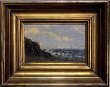 214: American 19th Century Painting Seascape