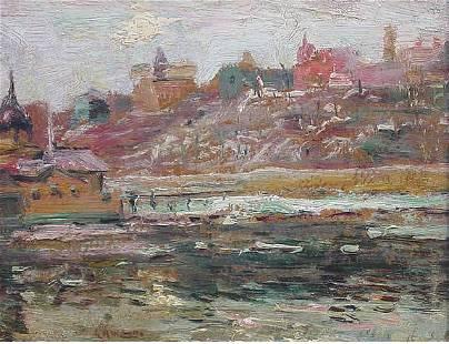 Lawson American Impressionist Harlem