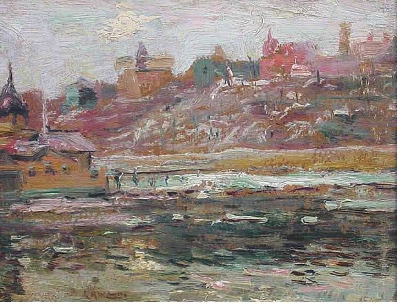 2: Lawson American Impressionist Harlem