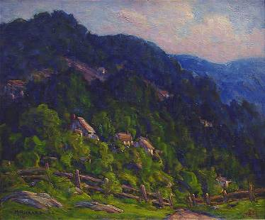 McRickard American Pennsylvania Impressionist