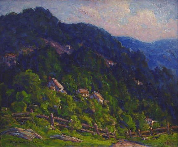 4: McRickard American Pennsylvania Impressionist