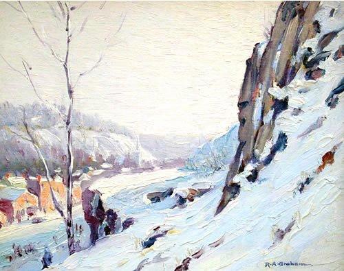 7: Graham American Pennsylvania Impressionist