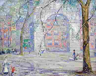 Towle American Manhattan Impressionist