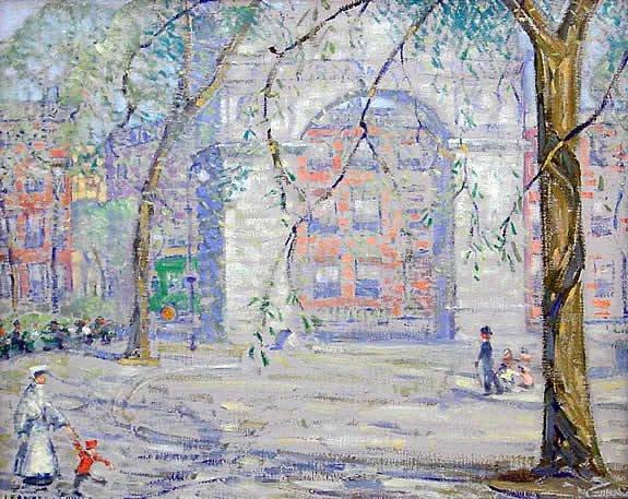 8: Towle American Manhattan Impressionist