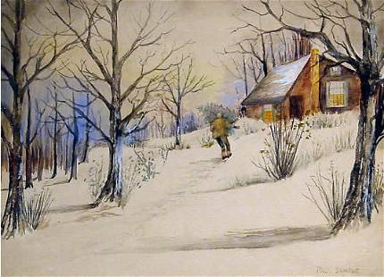 Sample American Modern Painting