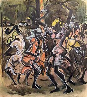 Greenwood African American Painting Haiti