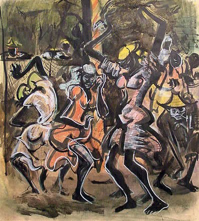 19: Greenwood African American Painting Haiti