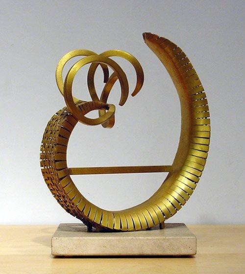 25: Callery American Sculpture Modern Abstract