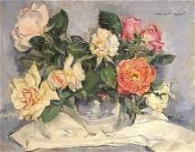 Meyer American Painting Roses Salmagundi