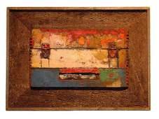 79 Zero Mostel American Painting Modern