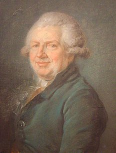 308: French Painting 18th Century Portrait