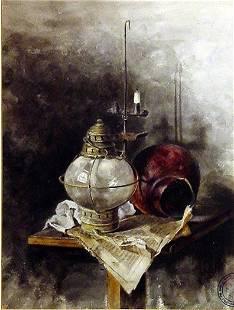Painting Prague Watercolor Czech