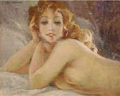 Fontan French Painting Female Nude
