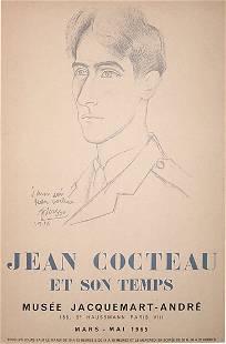 Picasso Cocteau Poster