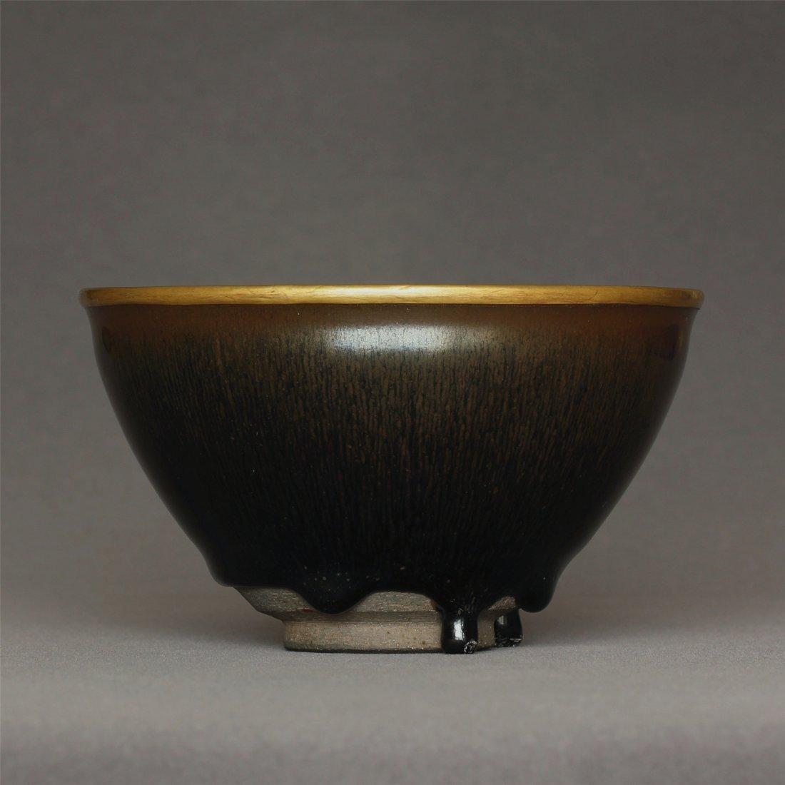 A 'Jian' 'Hare's fur' 'TENMOKU' Bowl Southern Song
