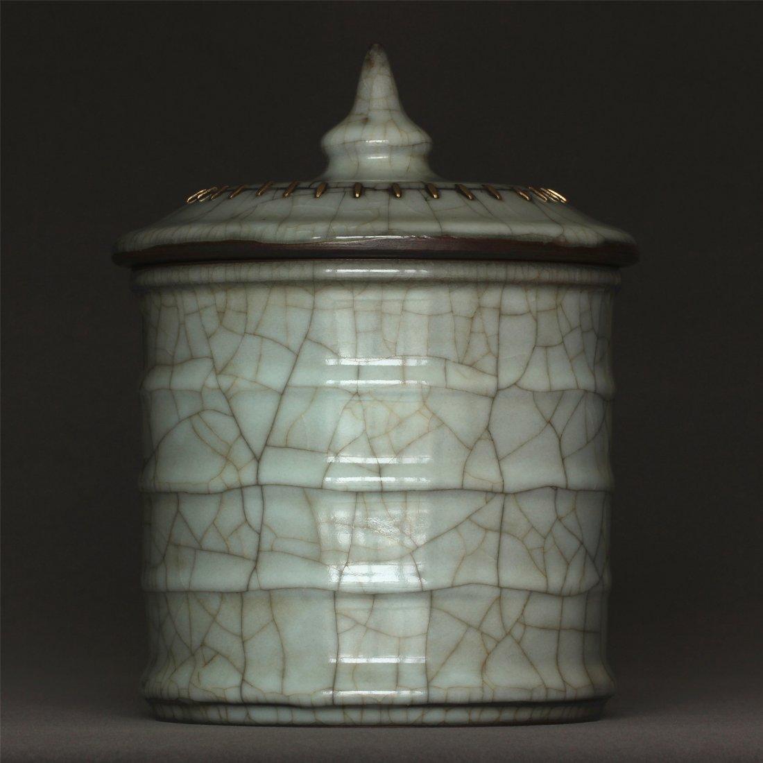 A Guan-Kiln Jar Southern Song Dynasty. - 3