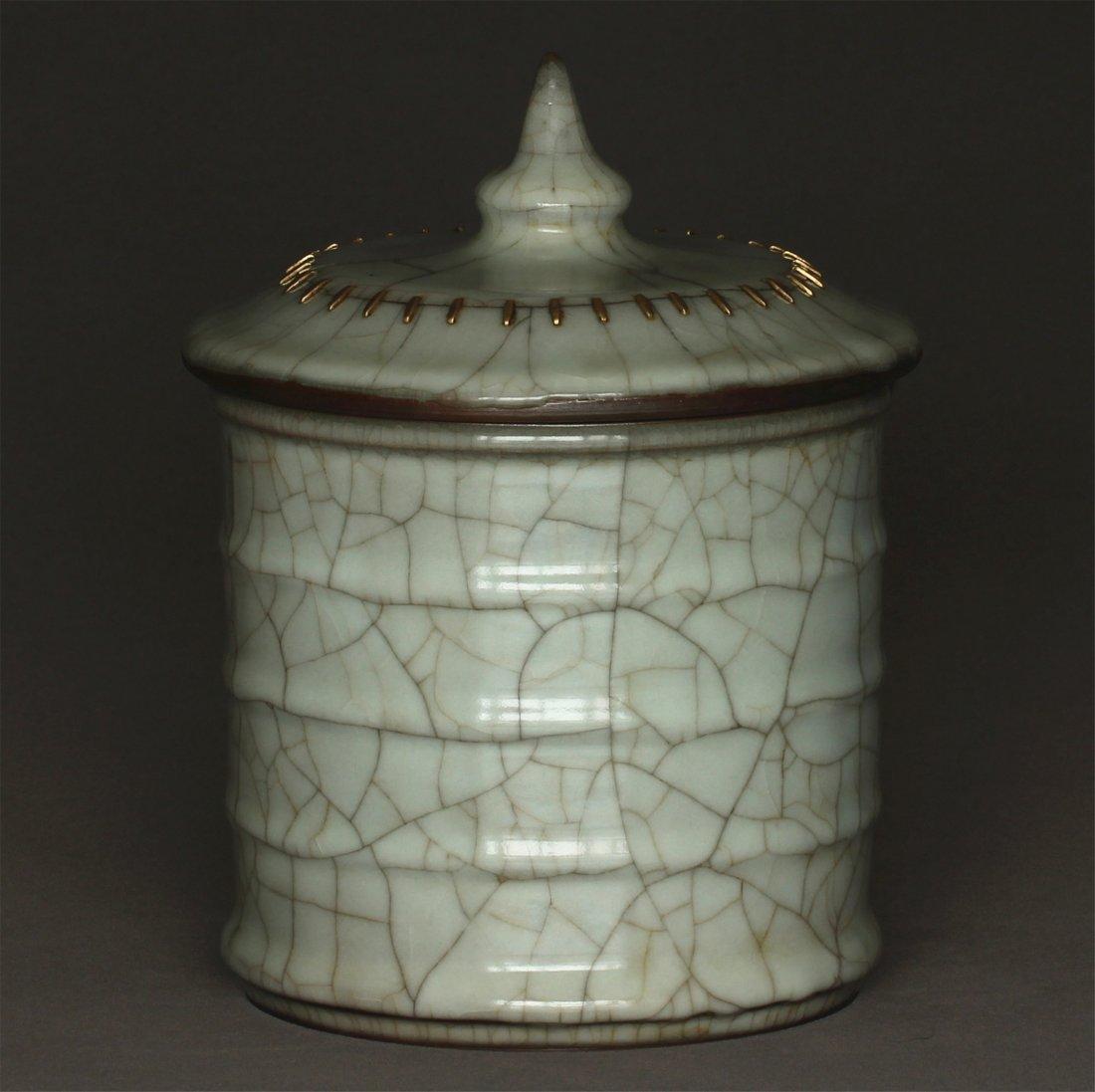 A Guan-Kiln Jar Southern Song Dynasty. - 4