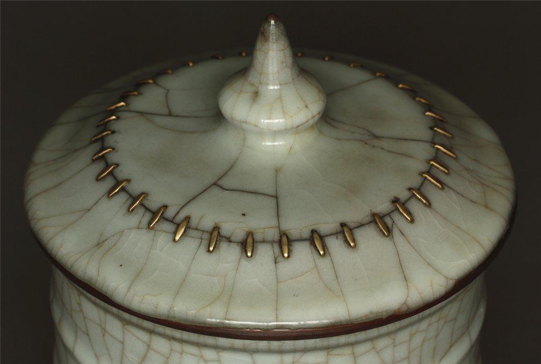 A Guan-Kiln Jar Southern Song Dynasty. - 5