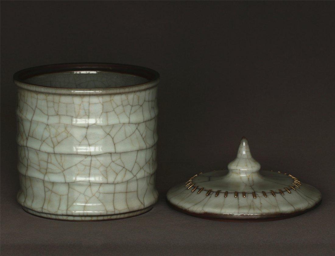 A Guan-Kiln Jar Southern Song Dynasty. - 6
