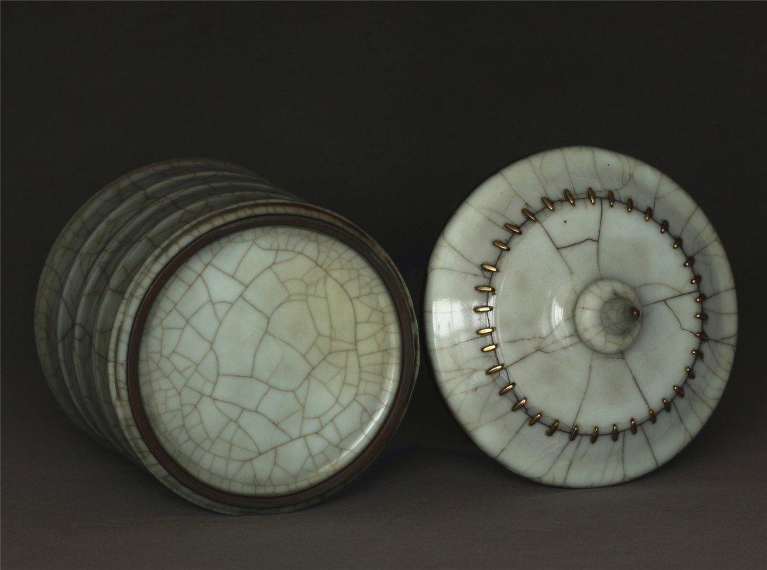 A Guan-Kiln Jar Southern Song Dynasty. - 8