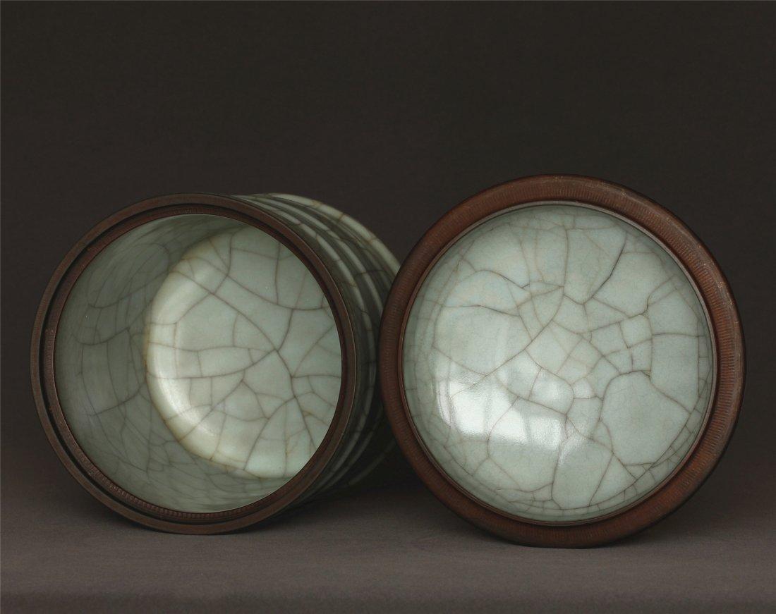 A Guan-Kiln Jar Southern Song Dynasty. - 9