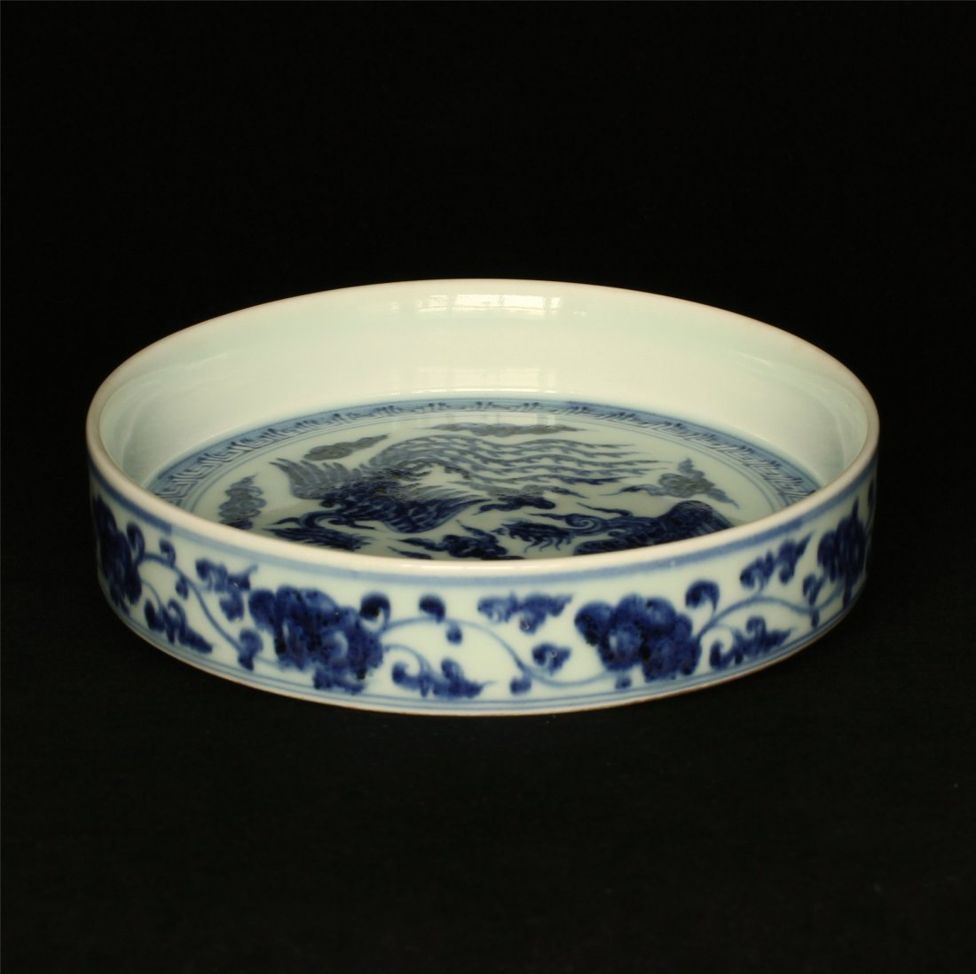 Blue and white porcelain plate of Ming Dynasty YongLe - 6