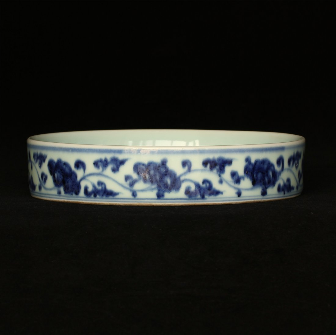 Blue and white porcelain plate of Ming Dynasty YongLe - 7
