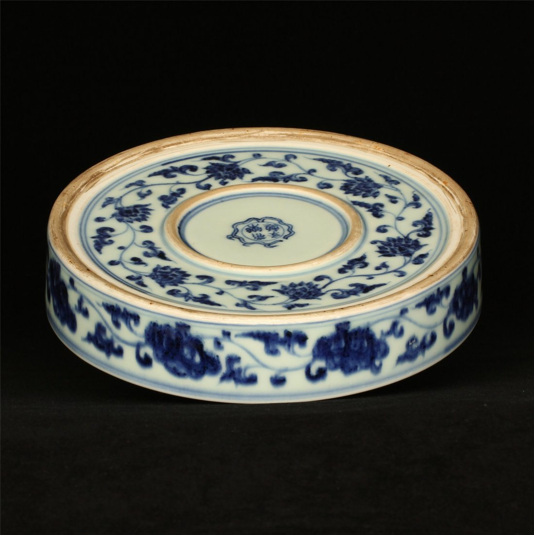 Blue and white porcelain plate of Ming Dynasty YongLe - 8