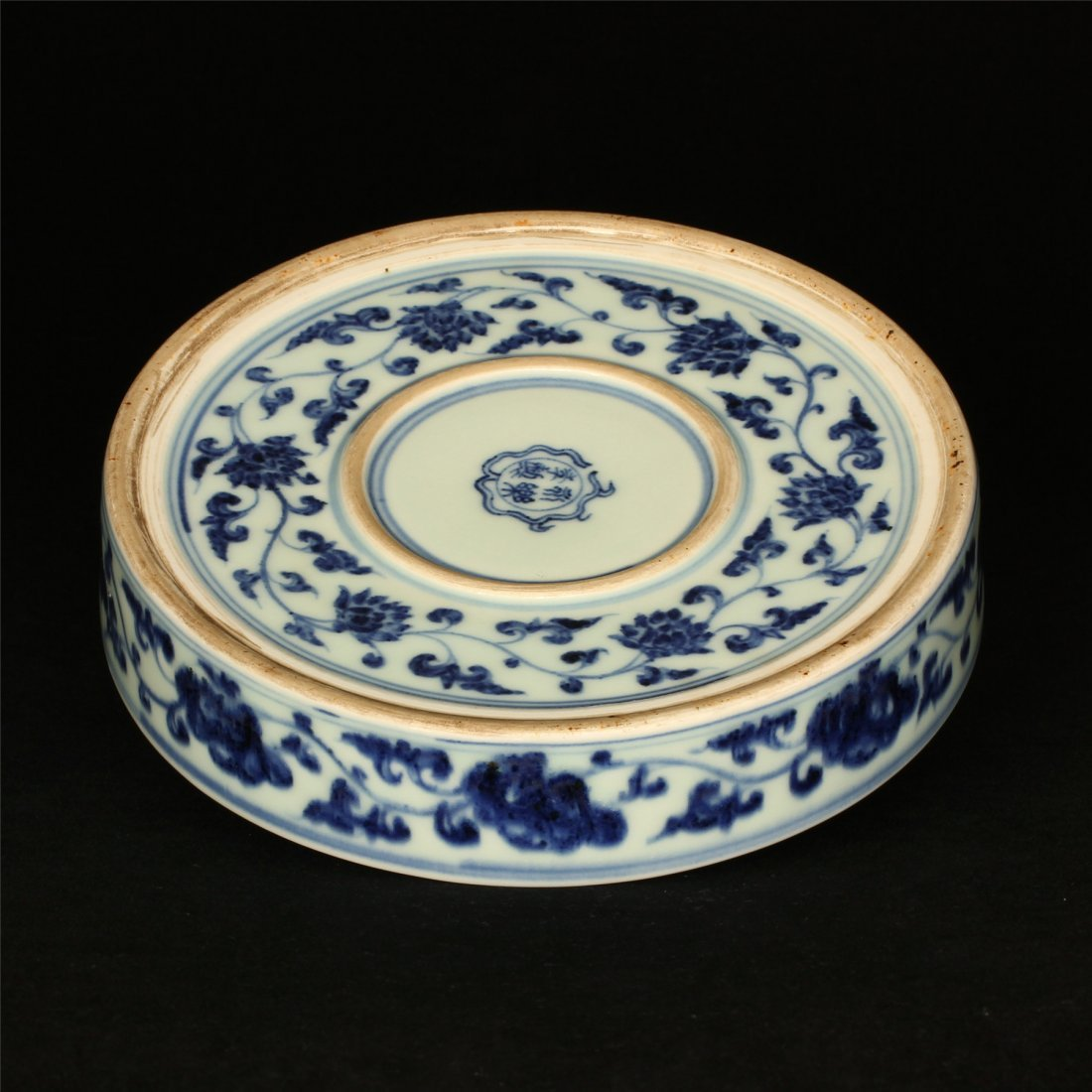 Blue and white porcelain plate of Ming Dynasty YongLe - 9