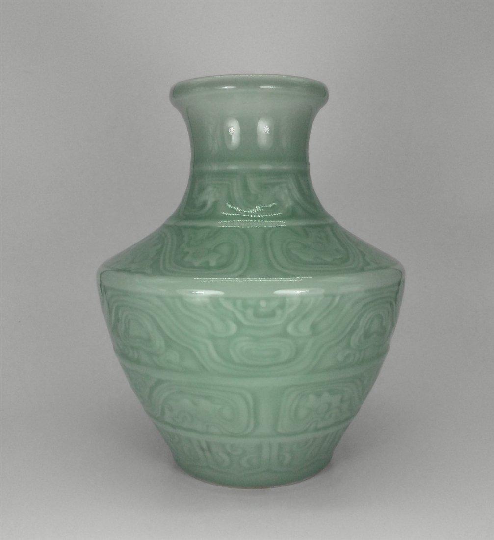 Antique celadon porcelain carved vase chinese antique celadon porcelain carved vase reviewsmspy