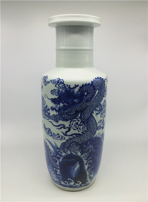 Chinese antique blue and white porcelain Large vase.