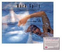 Mark Spitz USA Olympics Swimming Hand Signed 16x20 Phot