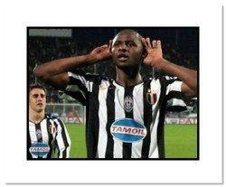 Patrick Vieira Juventus Double Matted 8x10 Photograph G