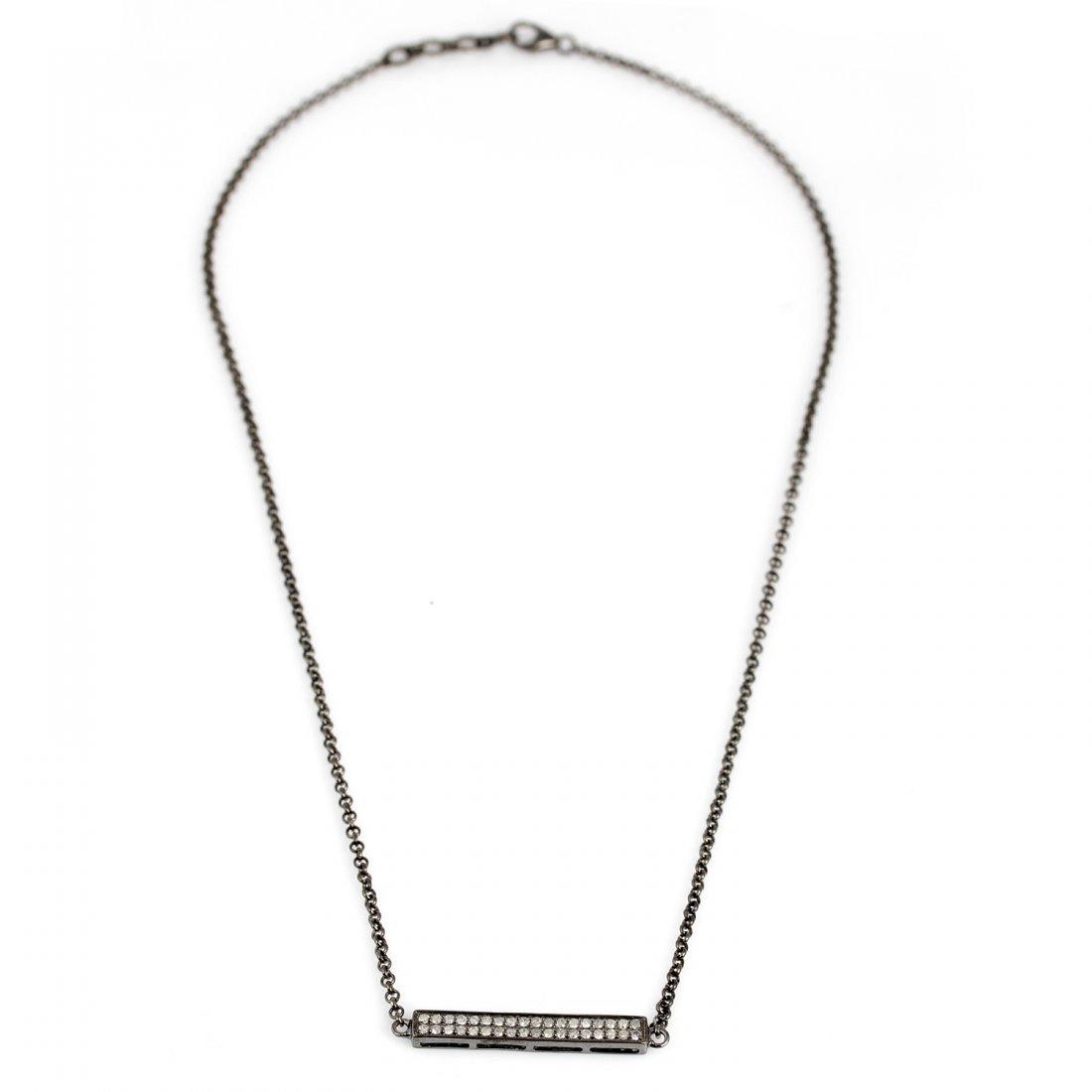 Diamonds  0.525Ct  -  Silver  Total wieght  5.435 Gram