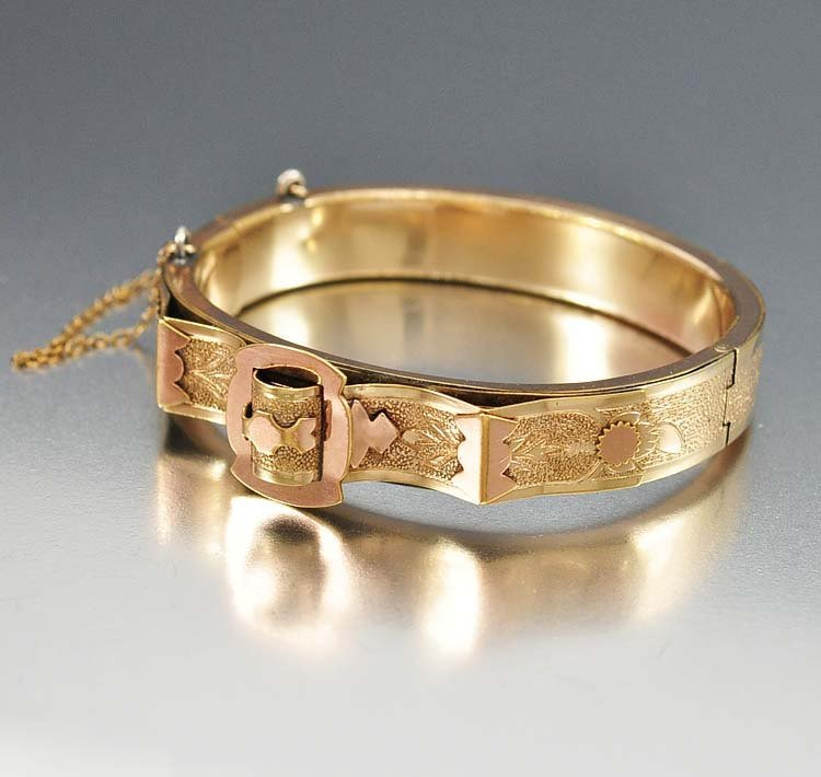 Authentic antique Bates and Bacon Victorian gold filled