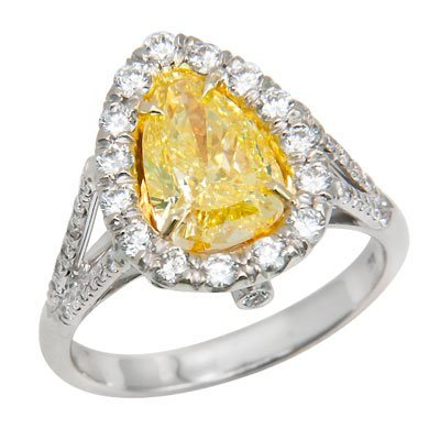 18K WHITE GOLD DIAMOND RING 6.10 GRAMS   1PS=2.15 FIGYE